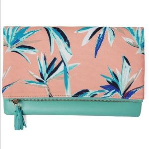 NWT Rachel Pally Limited Edition Reversible Clutch